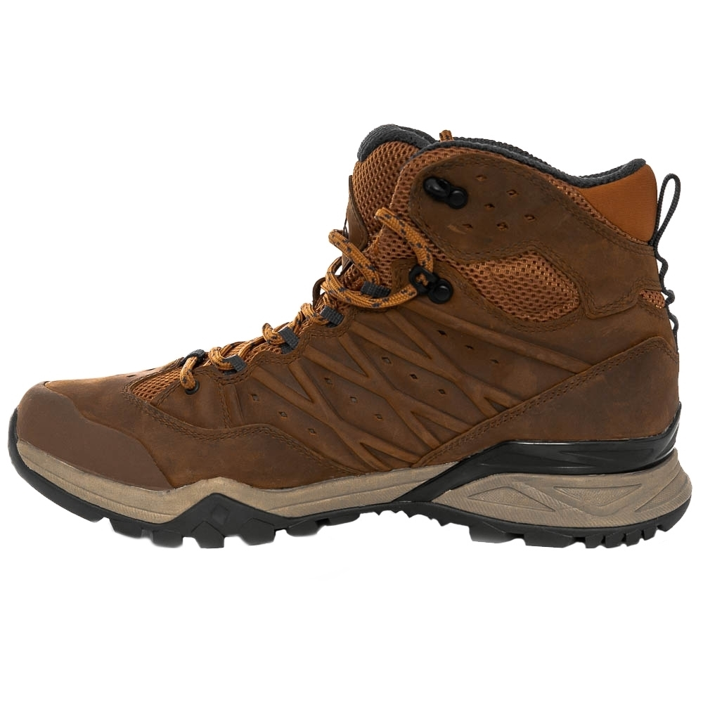 TNF Hedgehog Hike II Mid WP Men's Boot - Durable waterproof leather with high oil content