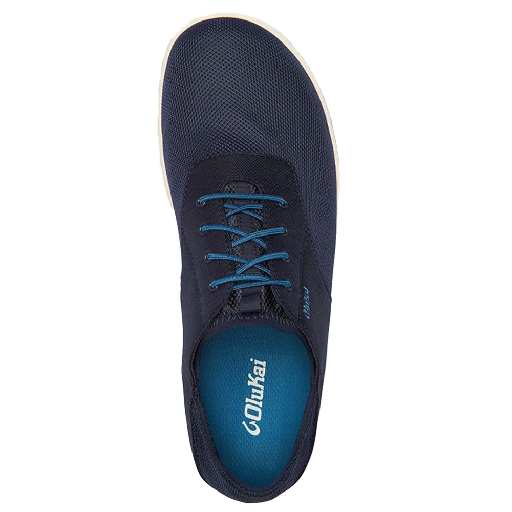 Olukai Nohea Moku Men's Shoe Blue Depth - Dual-density anatomical PU footbed with a polyurethane gel insert