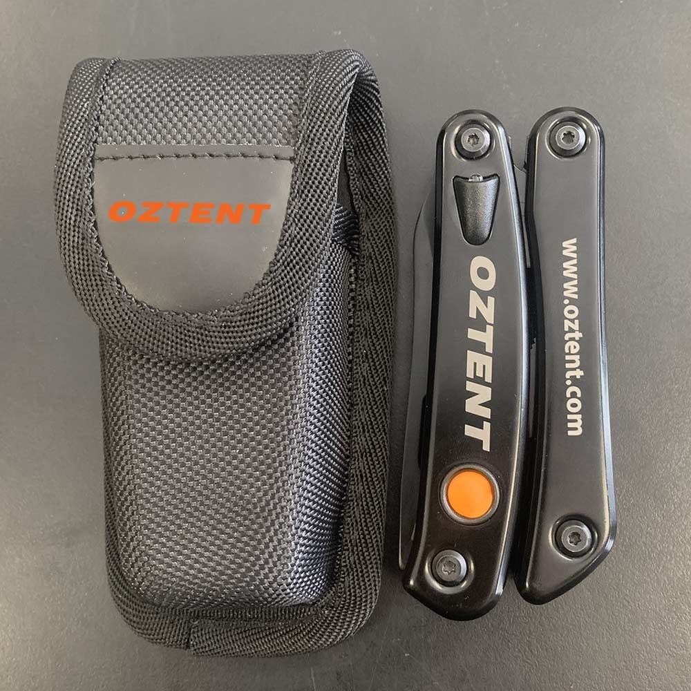 Oztent Multi Tool - Folded with Pouch