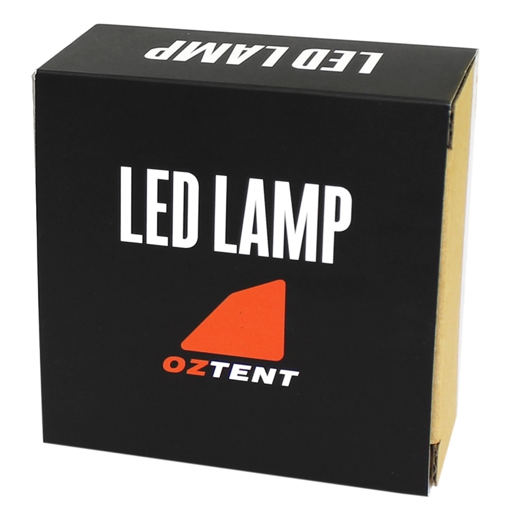 Oztent LED Lamp - Packaging