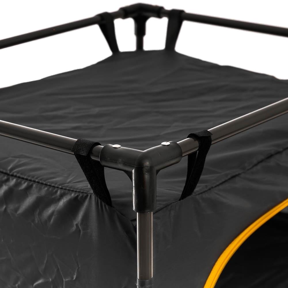 OZtrail 3 Shelf Cupboard - High tensile steel frame