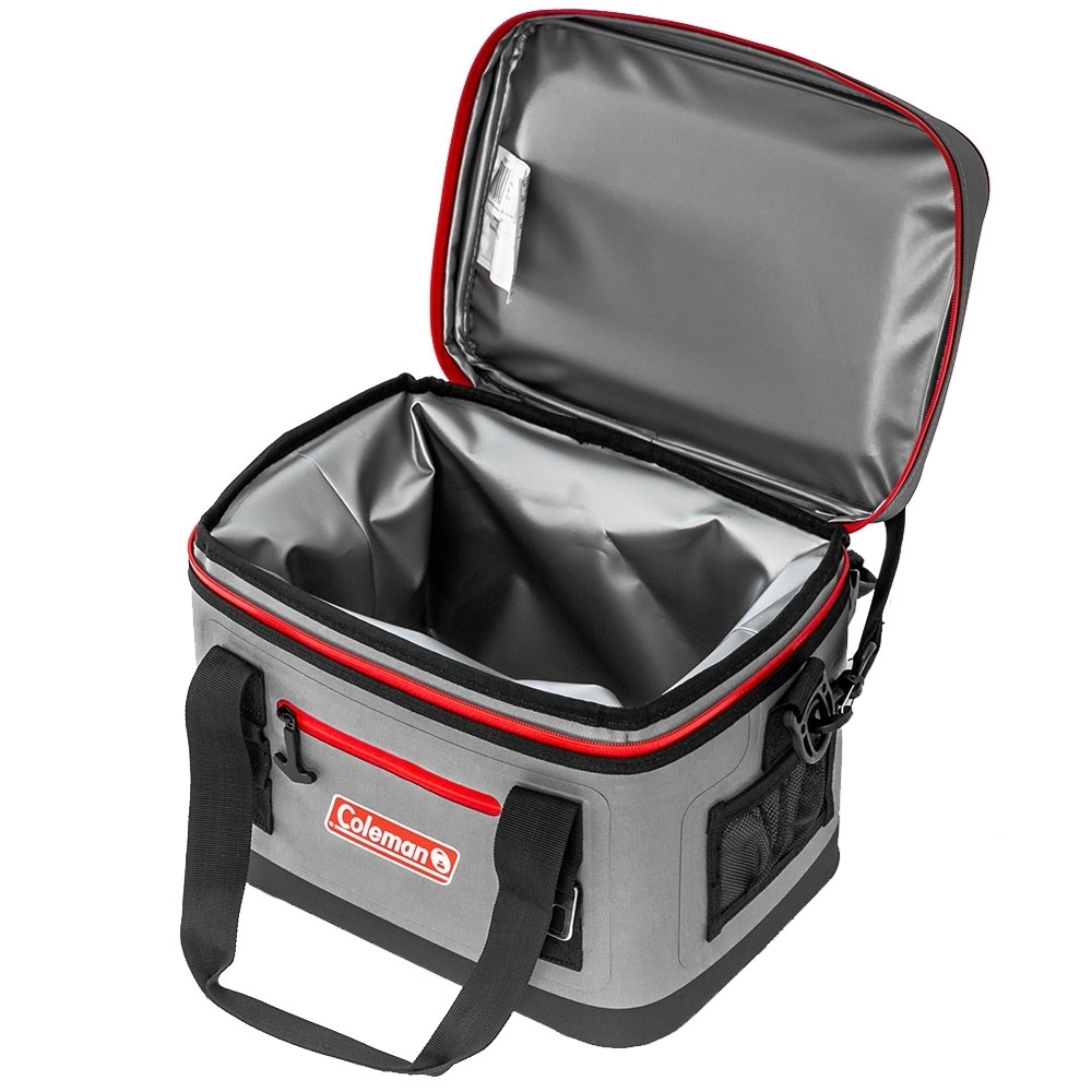 Coleman 16 Can Premium Performance Cooler - Durable fabric exterior