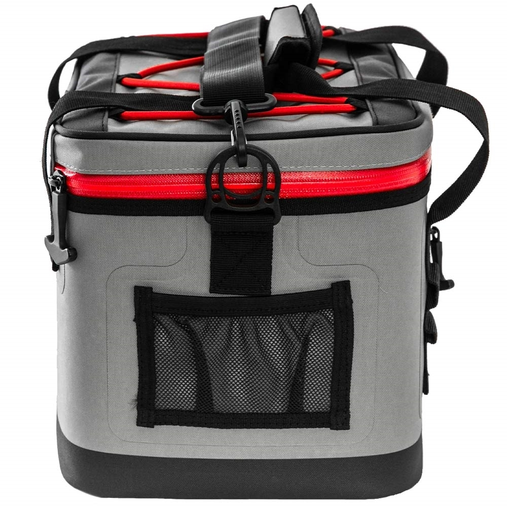 Coleman 16 Can Premium Performance Cooler - Side mesh pocket