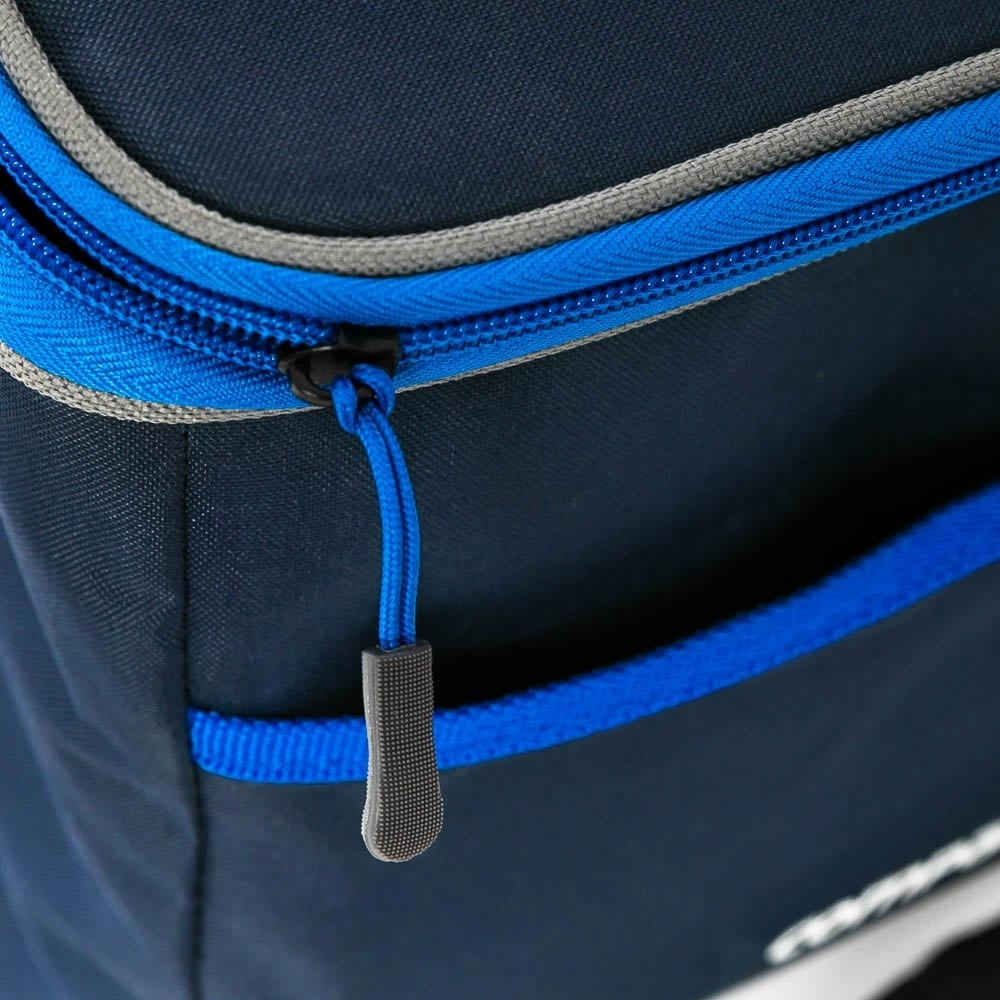 Companion 9 Can Soft Cooler - Easy to grab zip