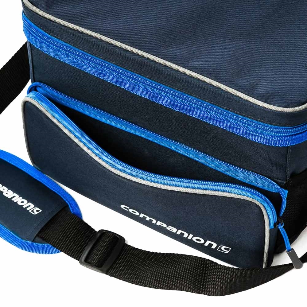 Companion 12 Can Crossover Cooler - Zippered front pocket for extra gear