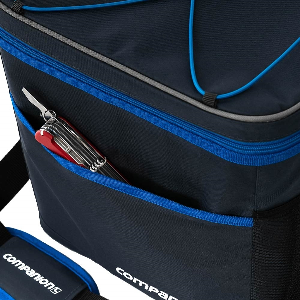 Companion 30 Can Crossover Cooler - Front pocket for extra storage
