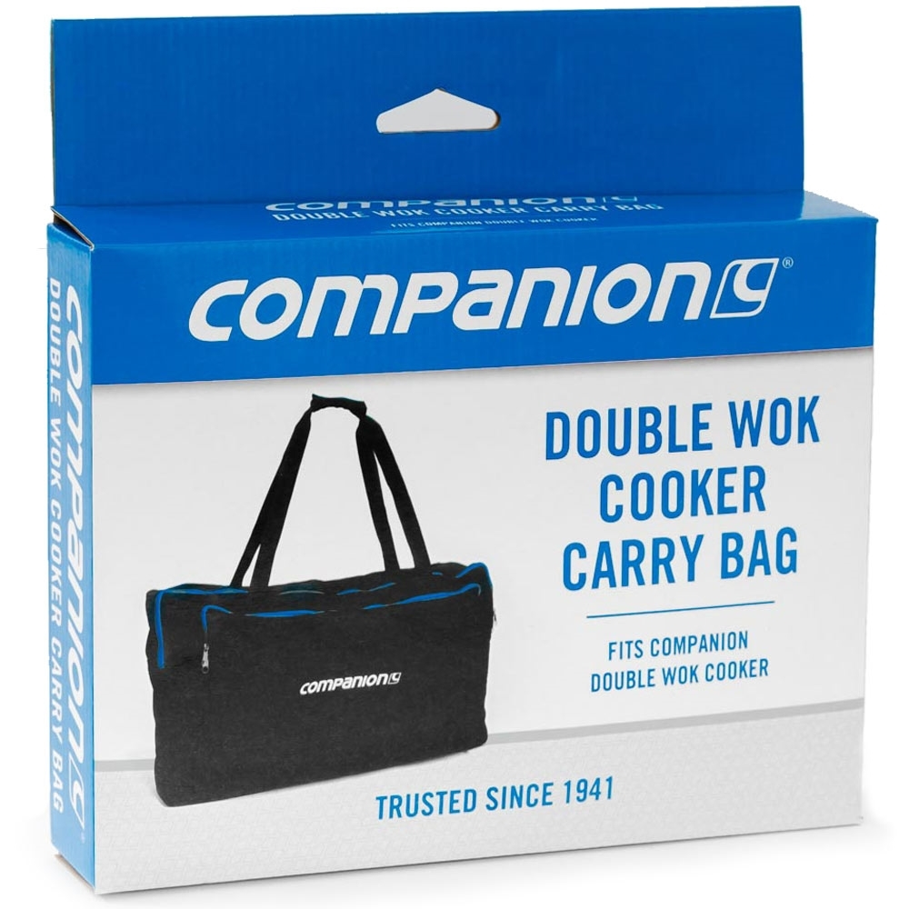 Companion Double Wok Cooker Carry Bag - Packaging