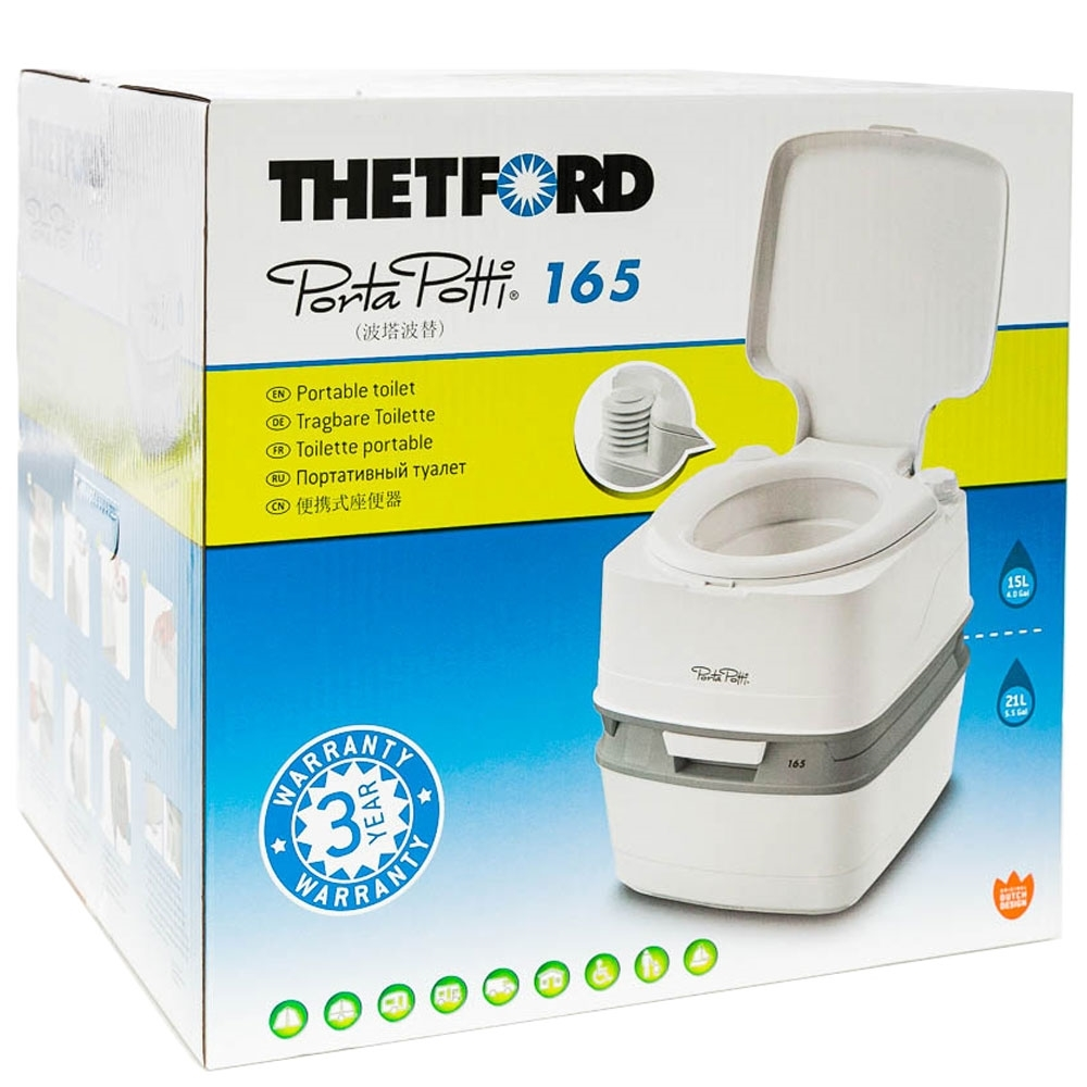 Thetford Porta Potti 165 - Packaging
