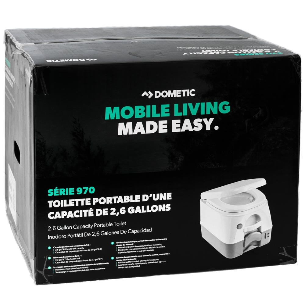 Dometic 972 Portable Toilet - Packaging