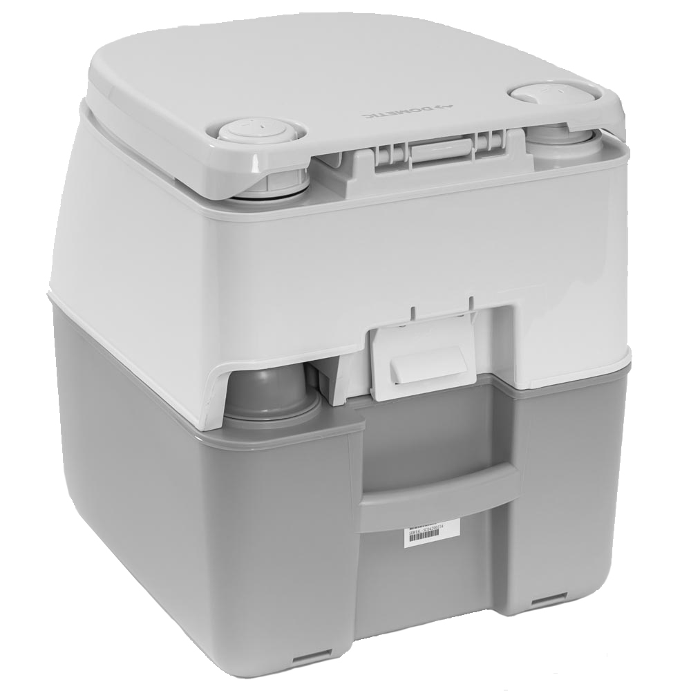 Dometic 976 Large Portable Toilet - Carry handle built-in at the back