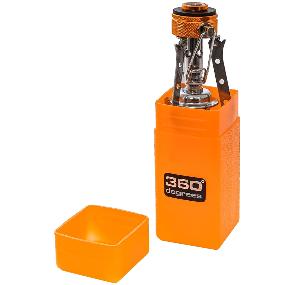 360 Degrees Furno Stove - Includes plastic storage case