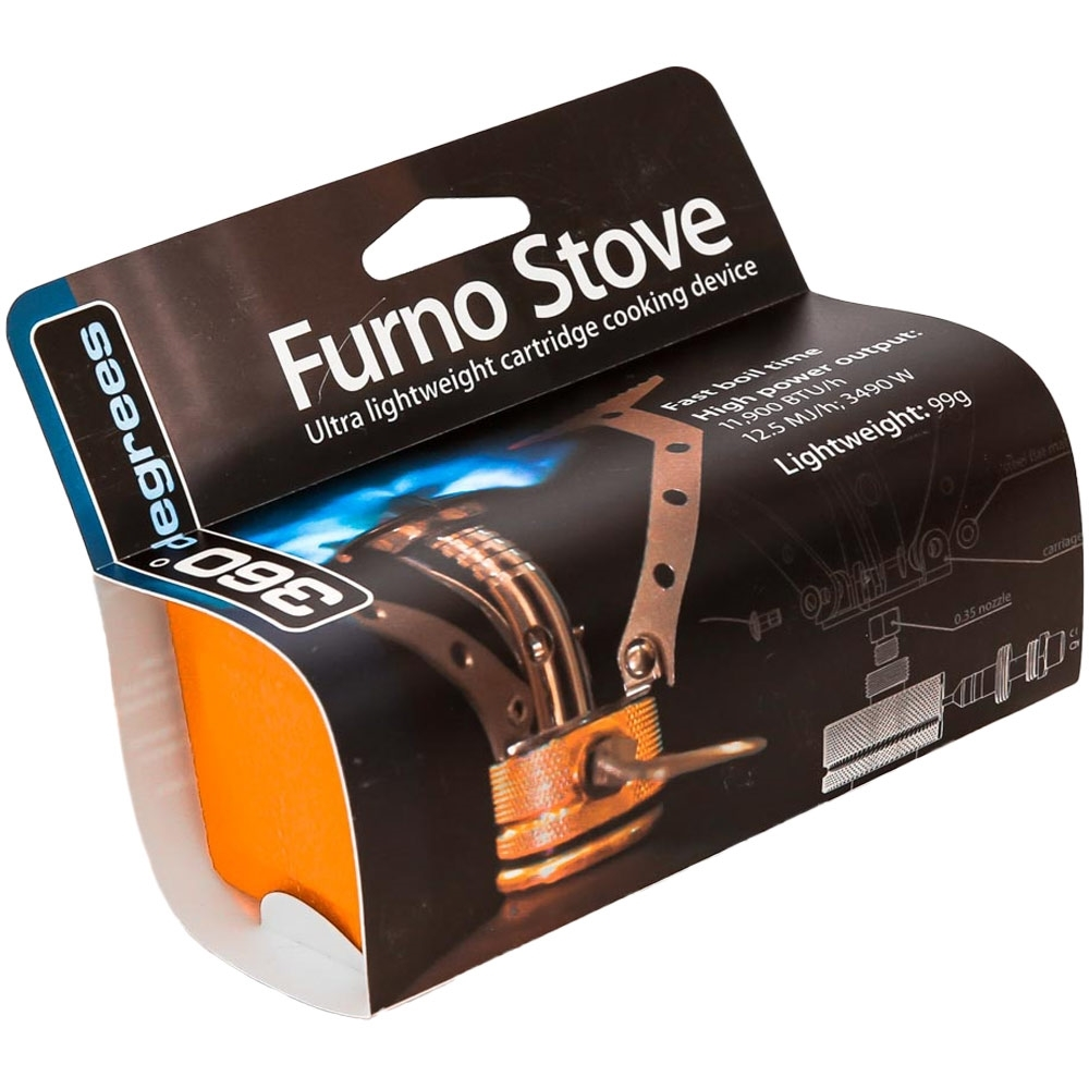 360 Degrees Furno Stove - Packaging