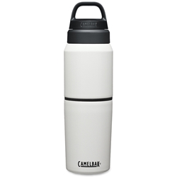 Camelbak MultiBev Vacuum Insulated Stainless Steel 2-In-1 Vessel White