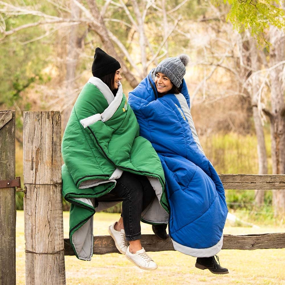 OZtrail Kingsford Hooded Sleeping Bag 0°C
