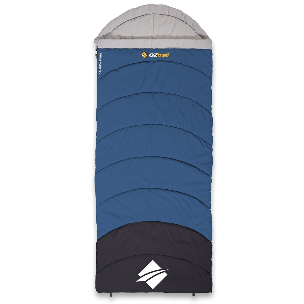 OZtrail Kingsford Hooded Sleeping Bag 5°C