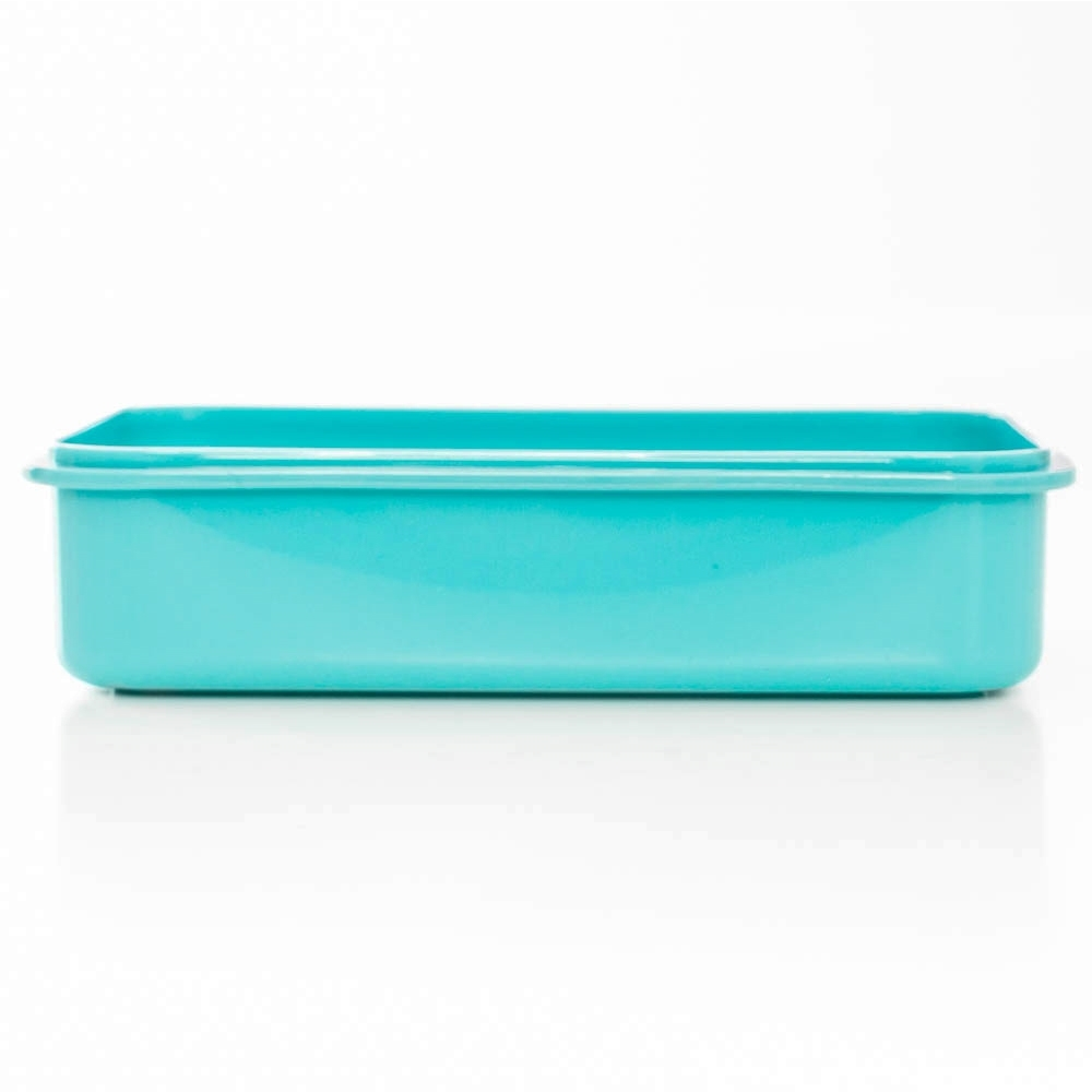 Avanti 2 Compartment Lunch Box - Base container and lid are microwave safe