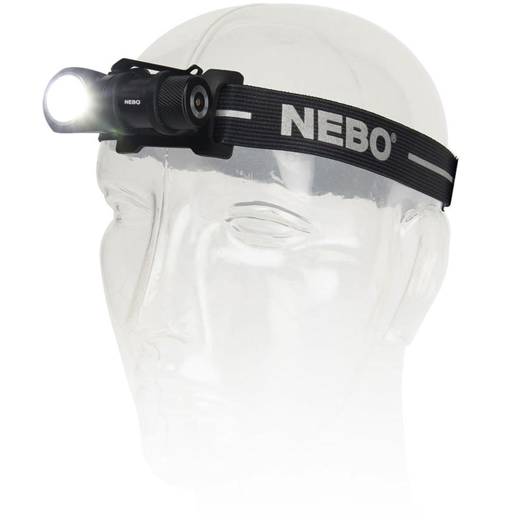 Nebo Rebel Task Light & Headlamp - Headlamp mode