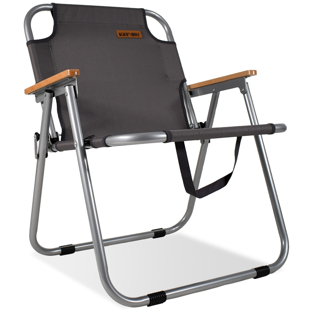 Black Wolf Settlement Folding Chair Tornado