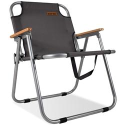 Black Wolf Settlement Folding Chair Tornado