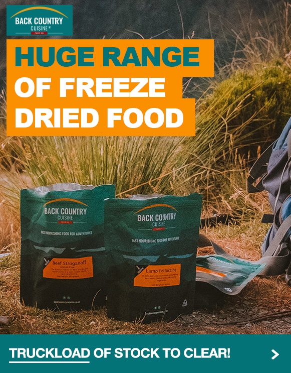 Huge range of freeze-dried food from Backcountry at our everyday low prices!