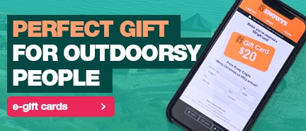 The Snowys Gift Card is the perfect pressie for outdoorsy people!