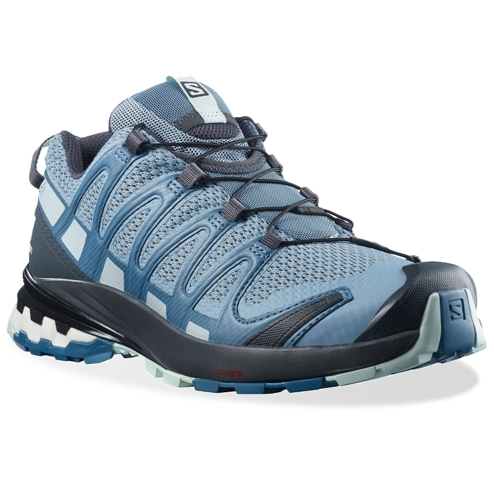 Salomon XA Pro 3D v8 Wmn's Shoe Ashley Blue Ebony Opal Blue