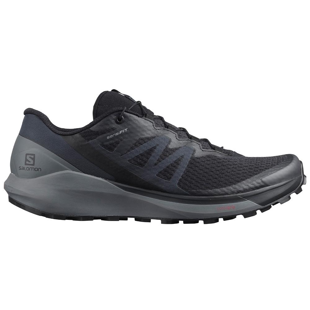 Salomon Sense Ride 4 Men's Shoe - Synthetic welded upper for a glove-like fit