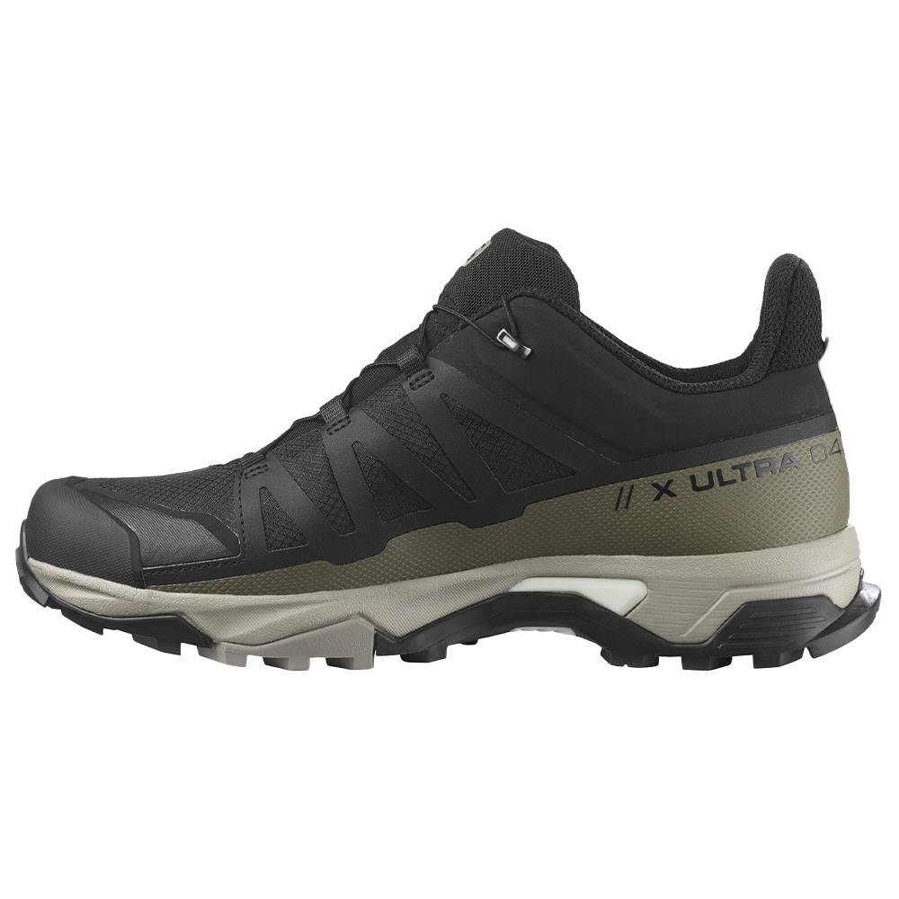 Salomon X Ultra 4 GTX Men's Shoe - Stitch-free welded upper construction provides a smooth, glove-like, fit and feel