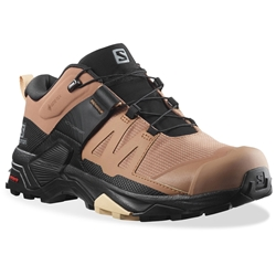 Salomon X Ultra 4 GTX Wmn's Shoe Mocha Mousse Black Almond Cream