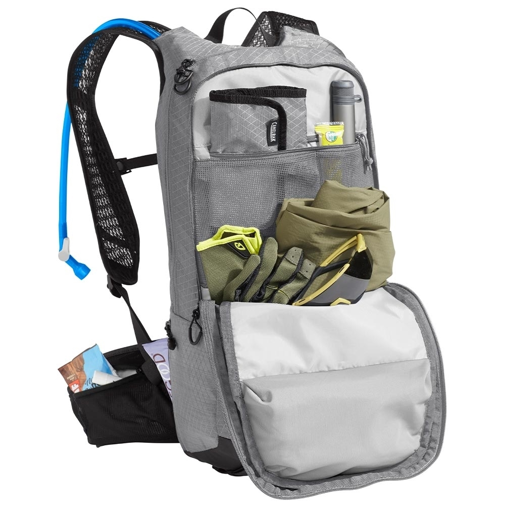 Camelbak H.A.W.G. Pro 20 3L Hydration Pack - Integrated Tool Roll: Keep your CO2 cartridges, multi-tool, and tire levers safe and secure
