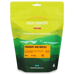 Back Country Cuisine Yoghurt & Muesli