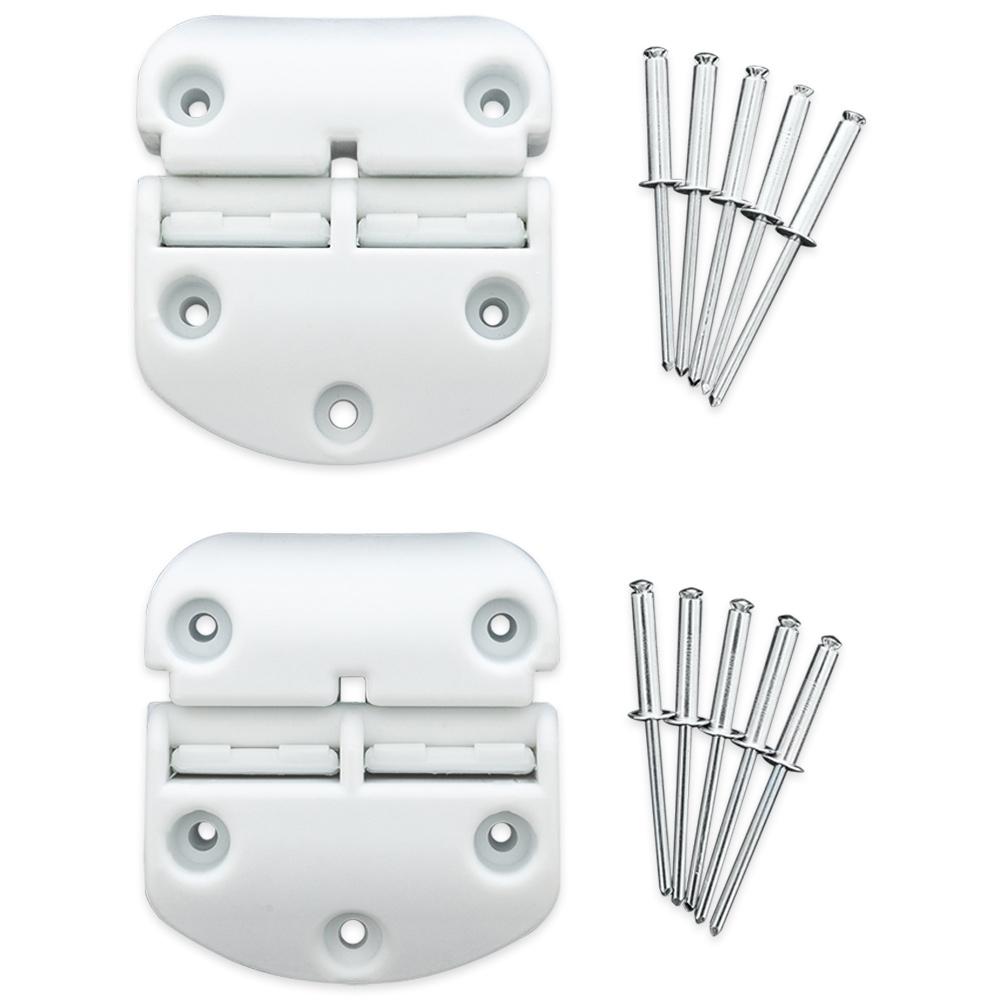 EvaKool Fibreglass Infinity Icebox Hinge Set (2 Pack)