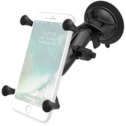 RAM Mounts X-Grip Large Phone Mount with Twist-Lock Suction Cup Base