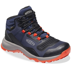 Keen Tempo Flex Mid WP Men's Boot Black Iris Orange