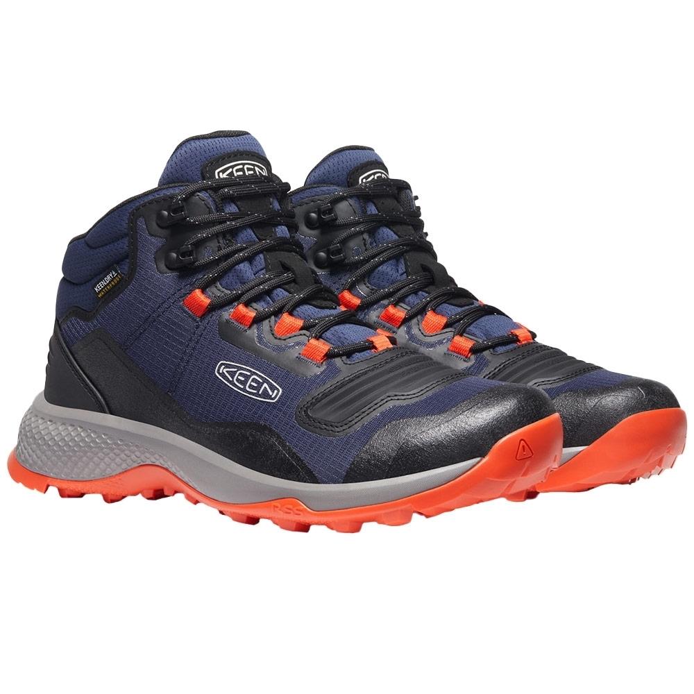 Keen Tempo Flex Mid WP Men's Boot - PFC-free, durable water repellent