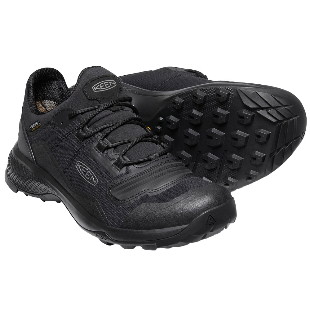 Keen Tempo Flex WP Men's Shoe - KEEN.BELLOWS FLEX in the upper for more bend and less wear