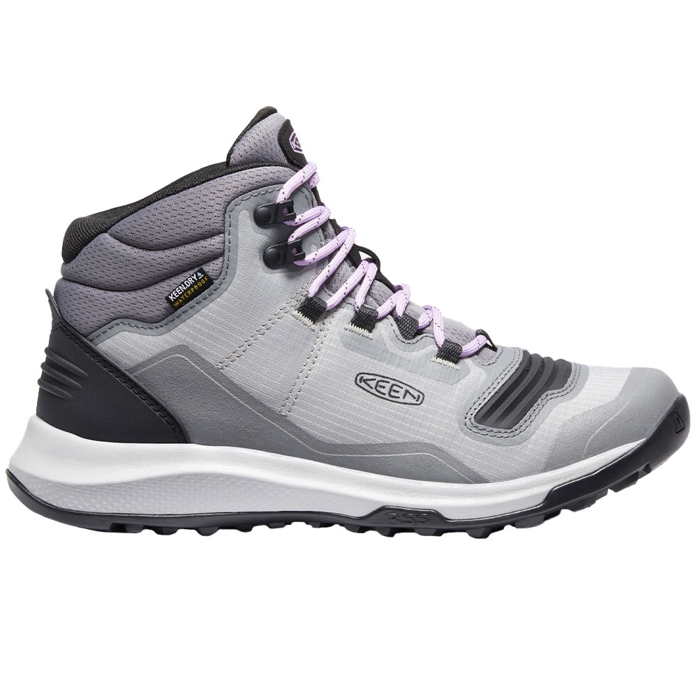 Keen Tempo Flex Mid WP Wmn's Boot - Performance ripstop mesh upper with TPU overlays for durable, lightweight support