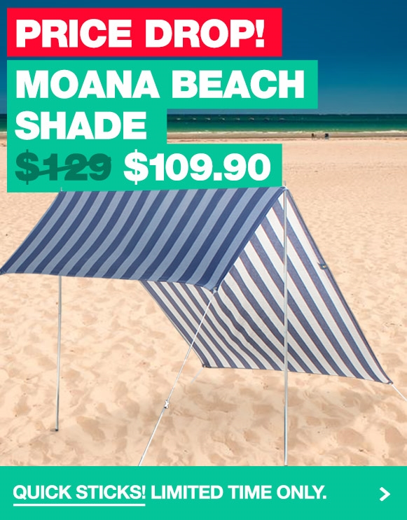 Casual Living Moana Beach Shade Blue now only $109.90!