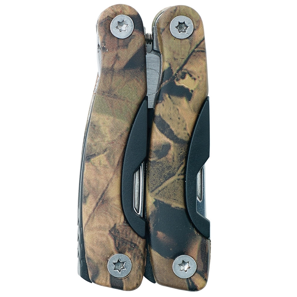 Caribee Multi Tool - 11 in 1 - Camouflage treatment on housing