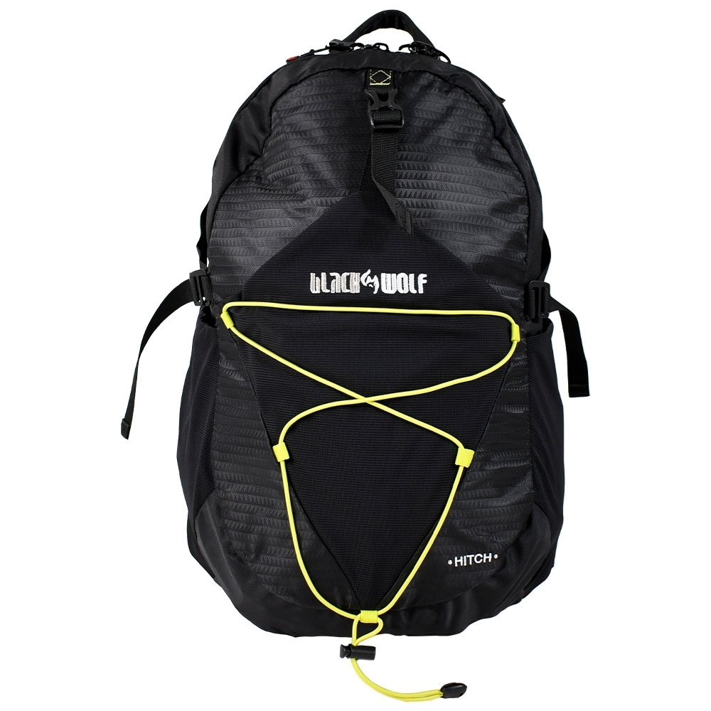 Black Wolf Hitch 30 Day Pack - Bungee system for carrying extra items