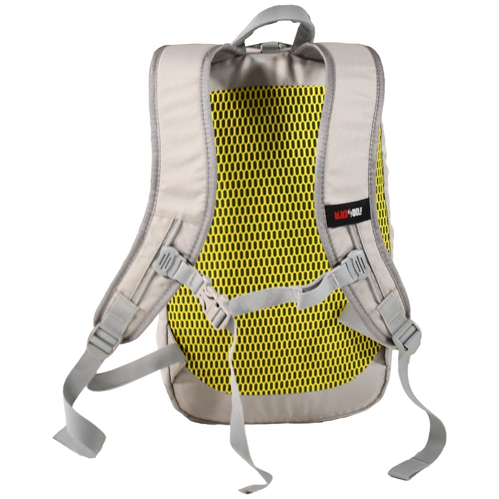 Black Wolf Substance 15 Day Pack - Aerofy Elemental Harness for a comfy carry
