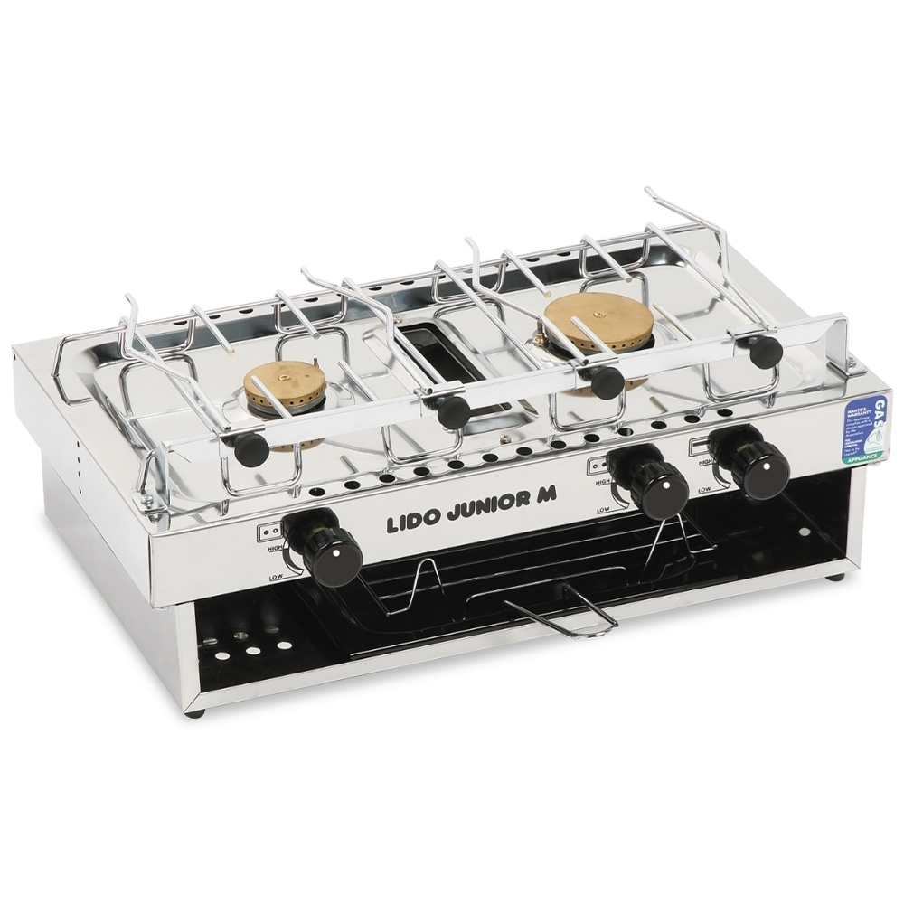 Bromic Marine-Lido Junior Stainless Steel 2-Burner with Grill