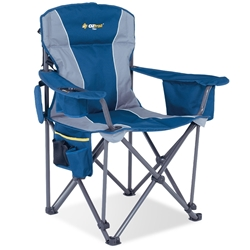 OZtrail Titan Arm Chair Blue