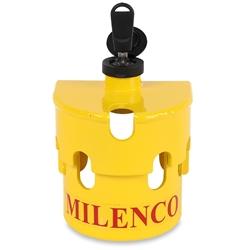 Milenco Heavy Duty Hitchlock with Chain Lock