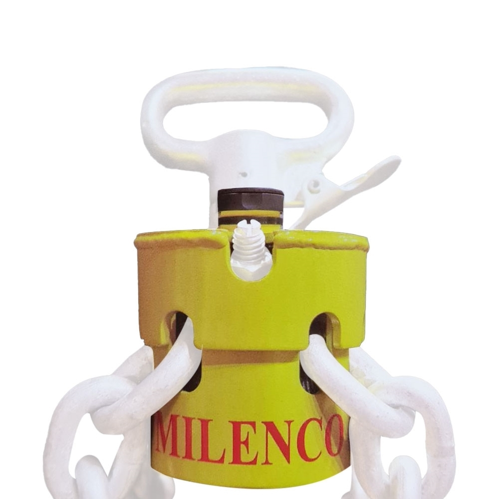 Milenco Heavy Duty Hitchlock with Chain Lock