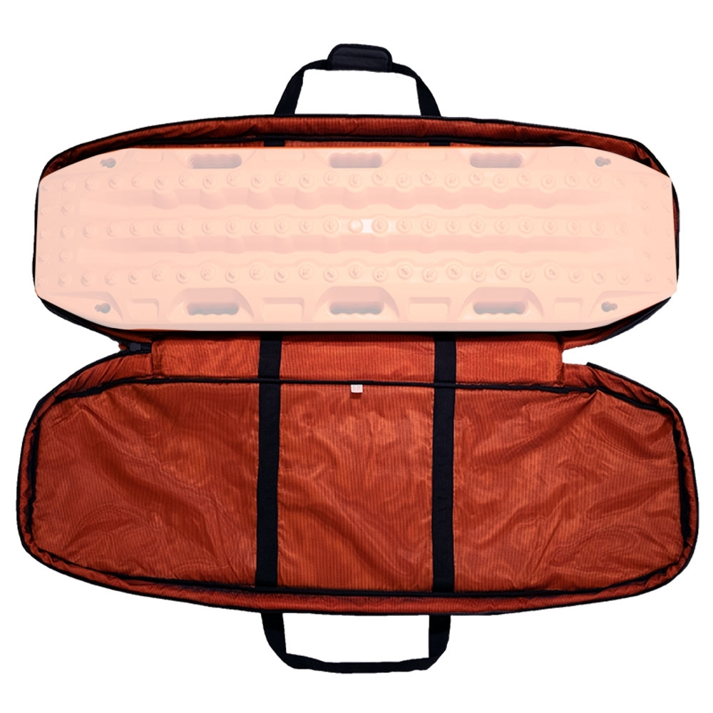 MAXTRAX Recovery Tracks Carry Bag - Bright safety orange internal material for visibility