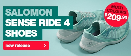 Salomon Sense Ride 4 Shoe, new release running shoe for men & women.
