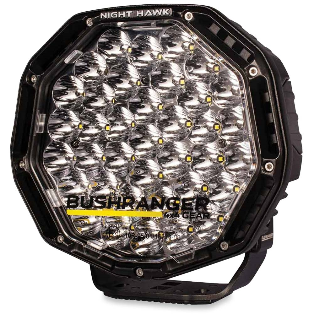 """Bushranger 4x4 Gear Night Hawk 9"""" VLI Series LED Driving Light - Engineered tough to withstand the rugged outdoor terrain"""
