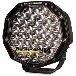 "Bushranger 4x4 Gear Night Hawk 9"" VLI Series LED Driving Light - Engineered tough to withstand the rugged outdoor terrain"