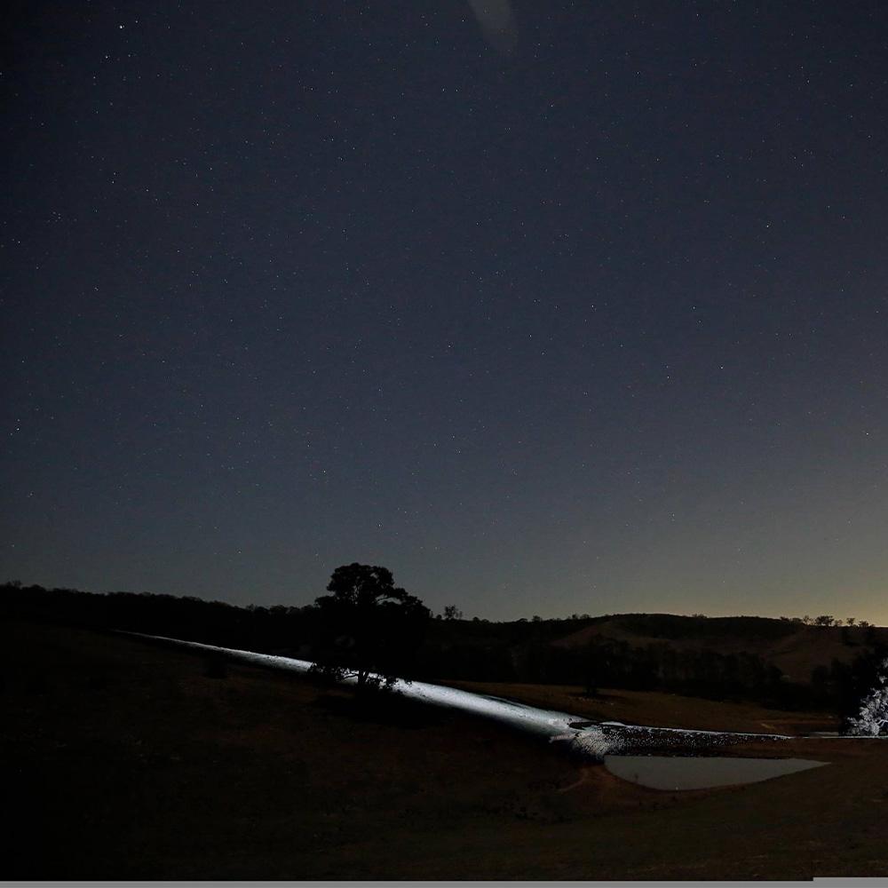 "Bushranger 4x4 Gear Night Hawk 9"" VLI Series LED Driving Light"